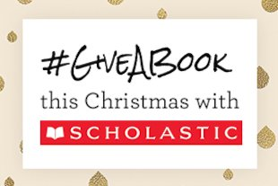 GiveABook this Christmas with Scholastic