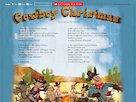 Cowboy Christmas audio poster