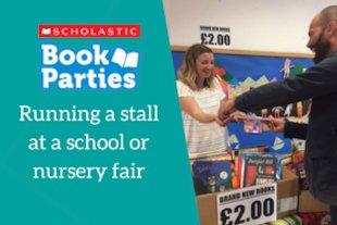 Book Parties: Running a stall at a school or nursery fair
