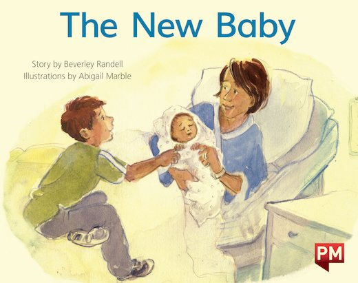 PM Yellow: The New Baby (PM Storybooks) Level 7