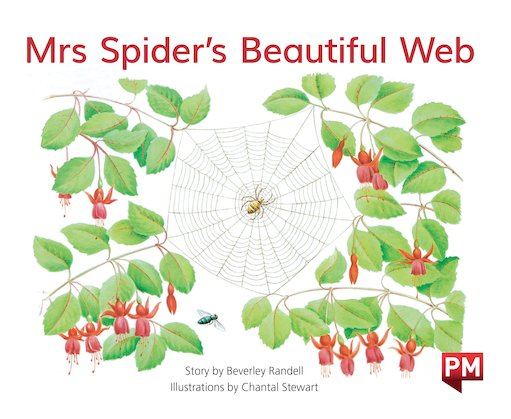 PM Green: Mrs Spider's Beautiful Web (PM Storybooks) Level 13