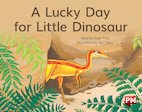 PM Yellow: A Lucky Day for Little Dinosaur (PM Storybooks) Level 8 x 6