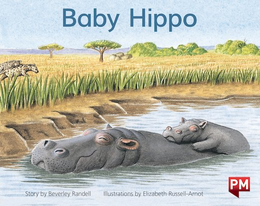 PM Yellow: Baby Hippo (PM Storybooks) Level 6 x 6