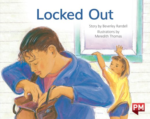 PM Blue: Locked Out (PM Storybooks) Level 11 x 6