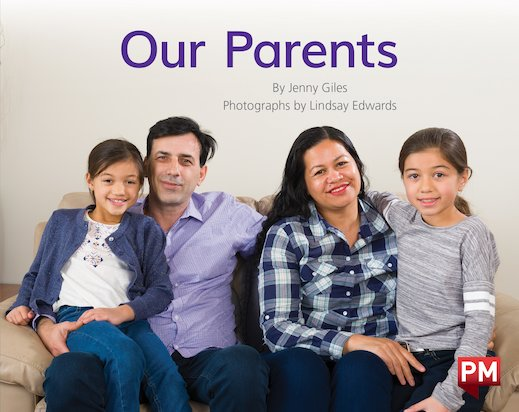 PM Blue: Our Parents (PM Non-fiction) Levels 11, 12 x 6