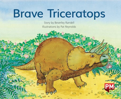 PM Green: Brave Triceratops (PM Storybooks) Level 12 x 6