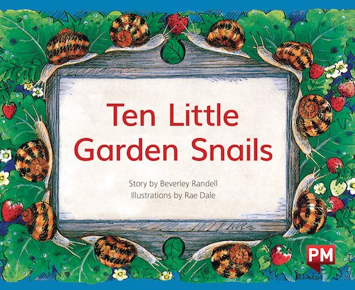 ten little garden snails Ten little garden snails summary note: summary text provided by external source author: randell, beverley language: english early-reading indicators 430l lexile.