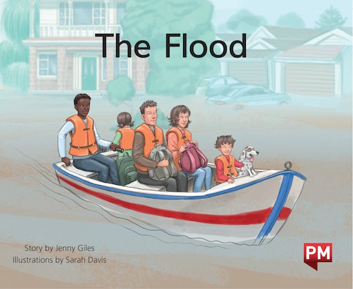 PM Green: The Flood (PM Storybooks) Level 14 x 6