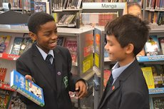 Taking the challenge of hand-selling books at the Book Fair