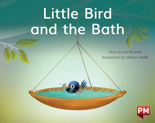 PM Red: Little Bird & The Bath (PM Storybooks) Level 3