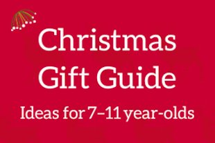 Christmas Gift Guide - Books for 7-11