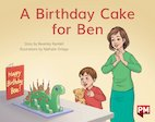 PM Red: A Birthday Cake for Ben (PM Storybooks) Level 3 x 6