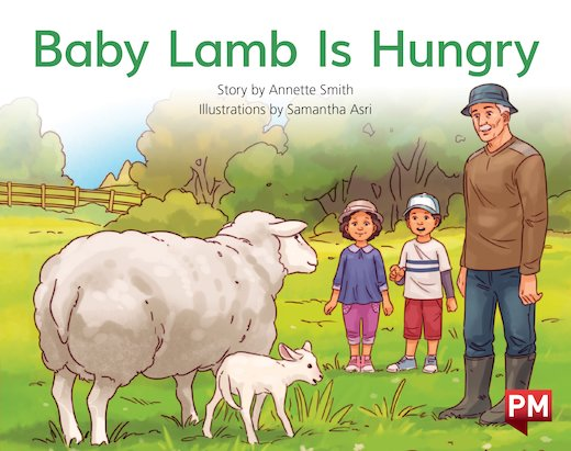 PM Red: Baby Lamb Is Hungry (PM Storybooks) Level 4 x6