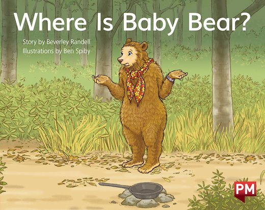 PM Red: Where Is Baby Bear?  (PM Storybooks) Level 5