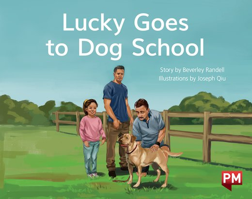 PM Yellow: Lucky Goes to Dog School (PM Storybooks) Level 7