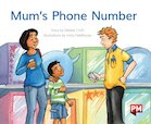 PM Green: Mum's Phone Number  (PM Storybooks) Level 12