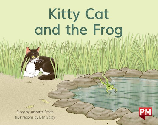 PM Yellow: Kitty Cat & The Frog (PM Storybooks) Level 8