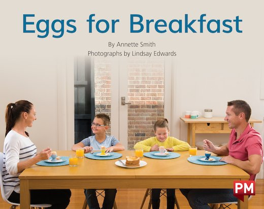 PM Red: Eggs for Breakfast (PM Non-fiction) Levels 5, 6 x 6