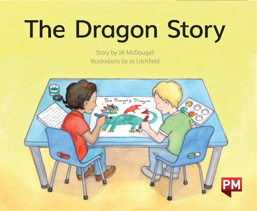PM Green: The Dragon Story  (PM Storybooks) Level 14 x6