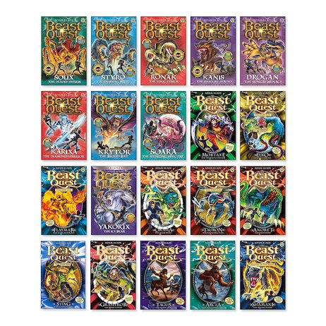 Beast Quest Amazing Value Bundle x 20