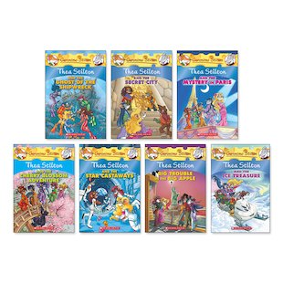 Thea Stilton Pack x 7 (Books 3-9)