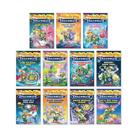 Geronimo Stilton: Spacemice Pack x 11 (Books 1-11)