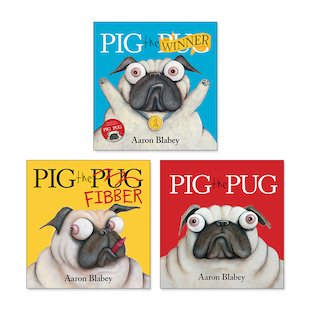 Pig the Pug Pack x 3