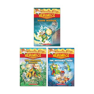 Geronimo Stilton: Heromice Pack  x 3 (Books 3-5)