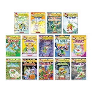 Geronimo Stilton Pack x 14 (Books 1-14)