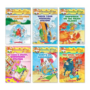 Geronimo Stilton Pack x 6 (Books 16-21)
