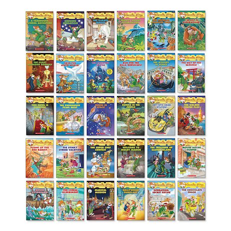 Geronimo Stilton Pack x 30 (Books 38-67)