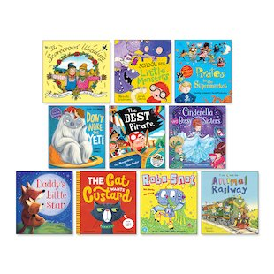Amazing Value Picture Book Pack x 10