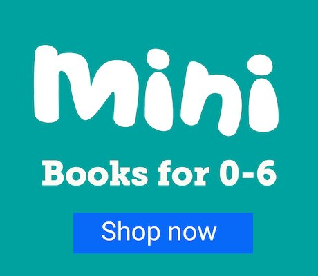 Mini - Books for 0-6