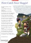 'First Catch your Haggis!' poem by Brenda Williams