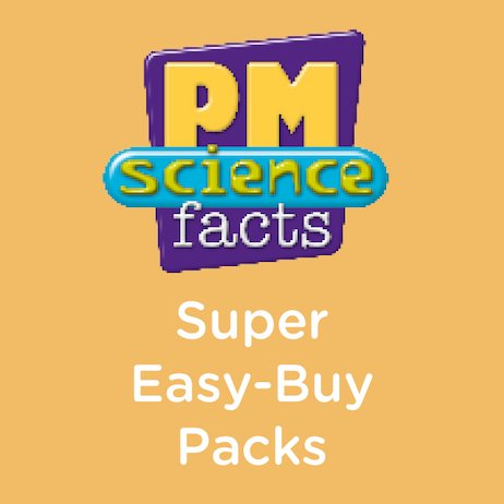 PM: Super Easy-Buy Pack (PM Science Facts) Levels 5-15 (240 books)