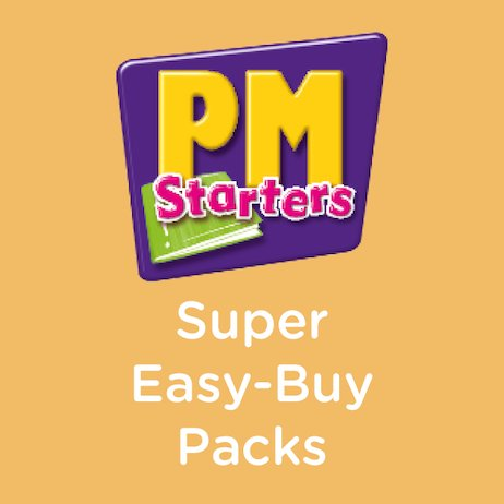 PM Series: Super Easy-Buy Pack (PM Plus Starters) Levels 1-2 (156 books)