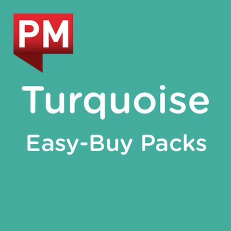 PM Turquoise: Easy-Buy Pack Levels 17, 18, 19 (56 books)