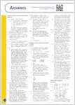 GCSE Grades 9-1: Chemistry All Boards Revision Guide answers (1 page)