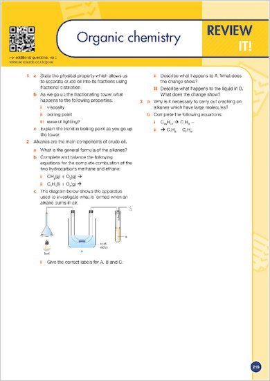 GCSE Grades 9-1: Combined Sciences Revision Guide for All Boards sample review of a chapter