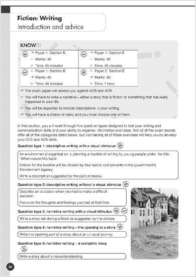 GCSE Grades 9-1: English Language and Literature Exam Practice Book