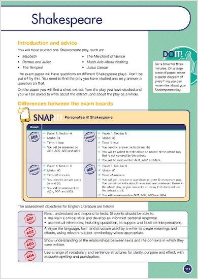 GCSE Grades 9-1: English Language and Literature Revision