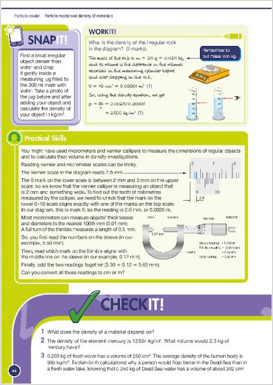 GCSE Grades 9-1: Physics Revision and Practice Book for AQA Nail it and Do it examples