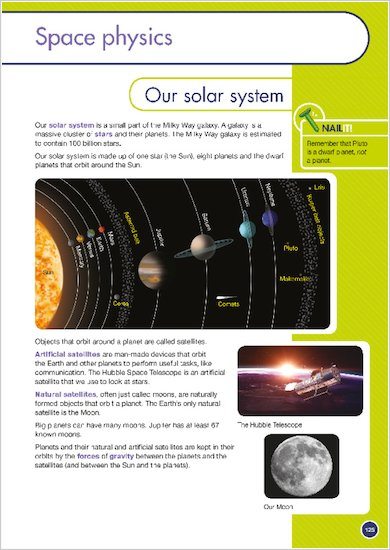 GCSE Grades 9-1: Physics Revision Guide for AQA sample start of a chapter
