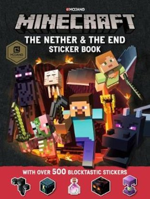 Minecraft: The Nether and the End Sticker Book
