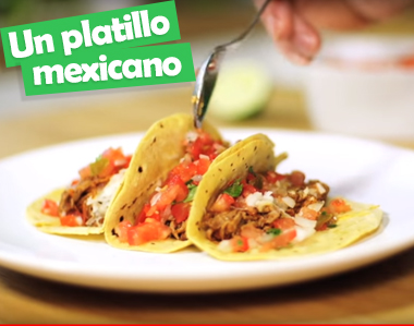 Un platillo mexicano