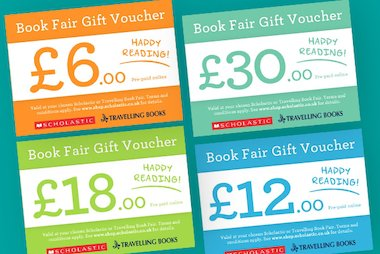 Book Fair Gift Vouchers blog image