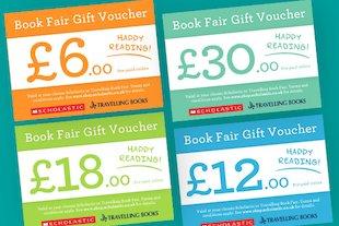 Book Fair Gift Vouchers blog image
