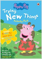 Peppa pig trying new things activity pack 1700899