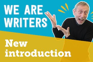 We Are Writers new introduction blog image