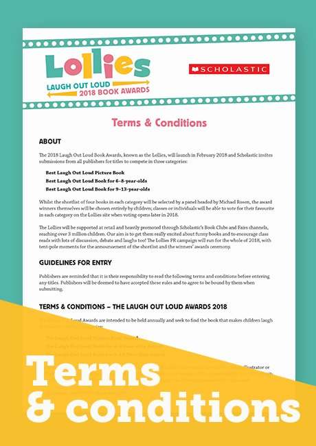 Lollies - terms and conditions